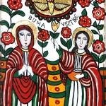 Buna Vestire - Icoane pe sticla Sapanta - Ioana Lutai - foto Cristina Nichitus Roncea