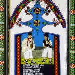 Cruce din Cimitirul Vesel 2 - Icoane pe sticla Sapanta pictate de Ioana Lutai - foto Cristina Nichitus Roncea