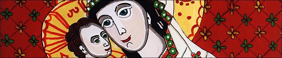 ICOANEPESTICLA-SAPANTA.RO - Icoane pe sticlă realizate cu suflet de artistul popular din Săpânţa, Ioana Luţai