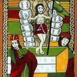 Inaltarea la Cer a Domnului Iisus Hristos - Icoane pe sticla Sapanta - Ioana Lutai - foto Cristina Nichitus Roncea