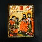 Intrarea in biserica a Maicii Domnului - Icoane pe sticla Sapanta - Ioana Lutai - foto Cristina Nichitus Roncea