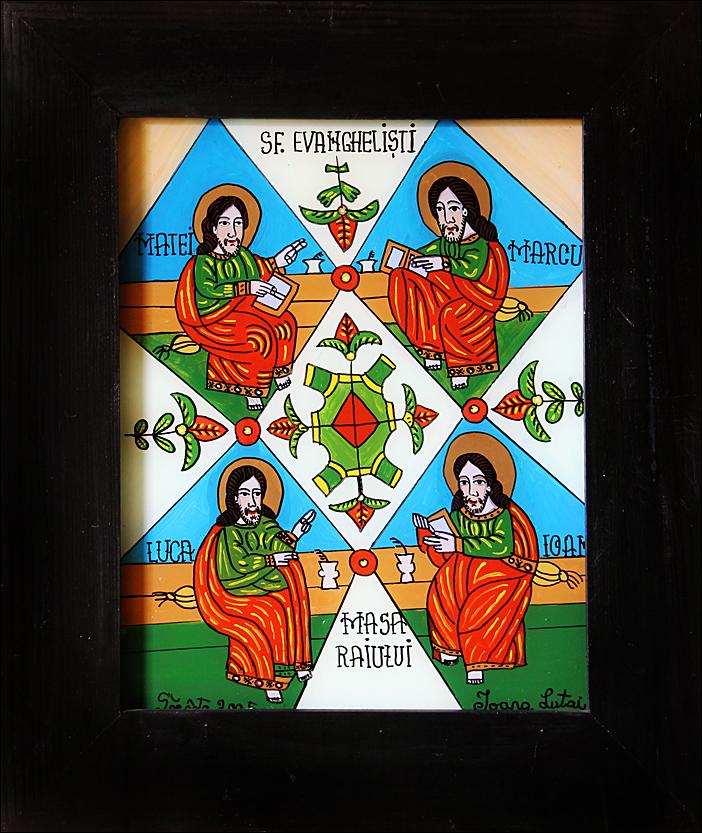 Masa Raiului - Icoane pe sticla Sapanta - Ioana Lutai - foto Cristina Nichitus Roncea