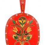 Pictura decorativa pe lemn 01 - Ioana Lutai - Icoanepesticla-Sapanta Ro