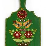 Pictura decorativa pe lemn 03 - Ioana Lutai - Icoanepesticla-Sapanta Ro