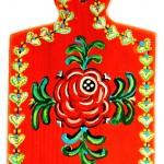 Pictura decorativa pe lemn 09 - Ioana Lutai - Icoanepesticla-Sapanta Ro