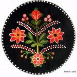 Pictura decorativa pe lemn 12 - Ioana Lutai - Icoanepesticla-Sapanta Ro