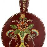 Pictura decorativa pe lemn 17 - Ioana Lutai - Icoanepesticla-Sapanta Ro