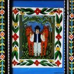 Pictura naiva 13 -  Ioana Lutai - Icoane pe sticla Sapanta - foto Cristina Nichitus Roncea