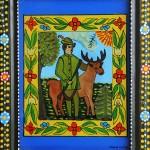 Pictura naiva 14 -  Ioana Lutai - Icoane pe sticla Sapanta - foto Cristina Nichitus Roncea