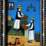 Pictura naiva 15 -  Ioana Lutai - Icoane pe sticla Sapanta - foto Cristina Nichitus Roncea