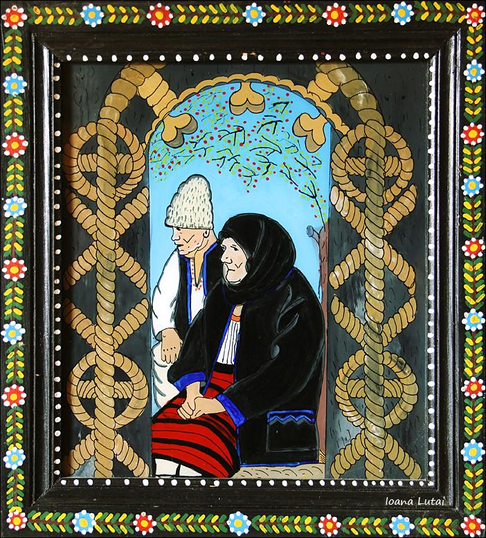 Pictura naiva 20 -  Ioana Lutai - Icoane pe sticla Sapanta - foto Cristina Nichitus Roncea