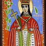 Sfanta Parascheva - Icoane pe sticla Sapanta - Ioana Lutai - foto Cristina Nichitus Roncea
