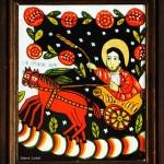 Sfantul Ilie - Icoane pe sticla Sapanta - Ioana Lutai - foto Cristina Nichitus Roncea